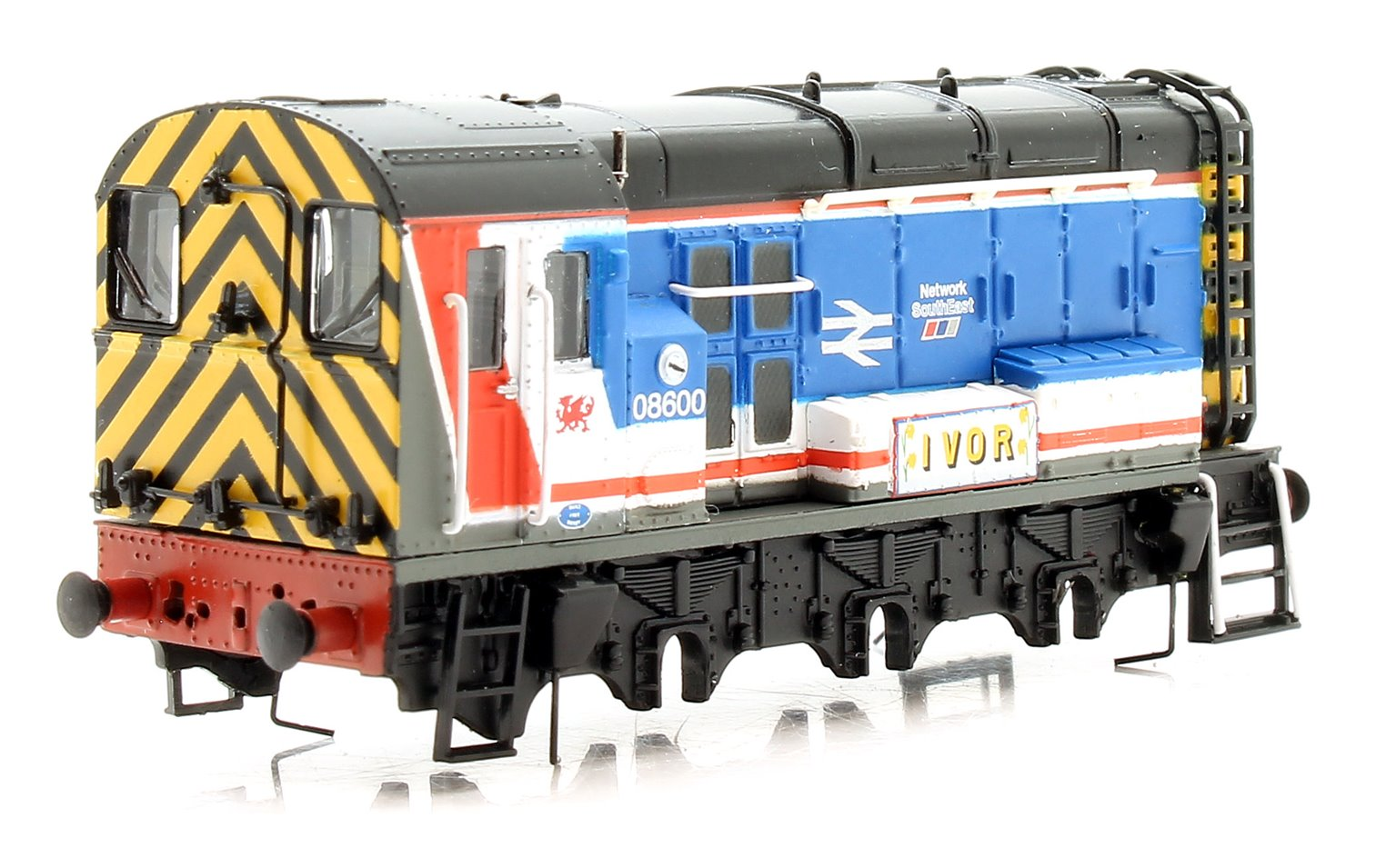 N Gauge Class 08 600 'Ivor' Network Southeast Diesel Shunter - **LOCO BODY ONLY**